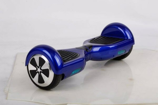 Side view of ForTech Hoverboard
