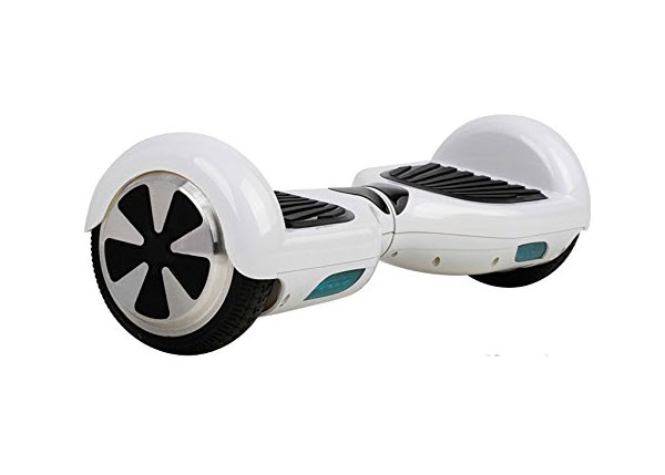 Side view of Hot Spot Hoverboard