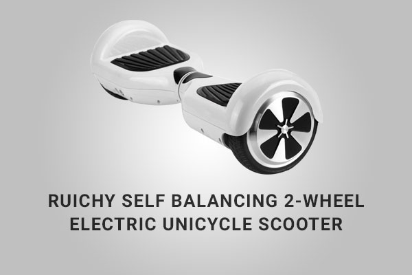 Ruichy Self Balancing 2-Wheel Electric Unicycle Hoverboard