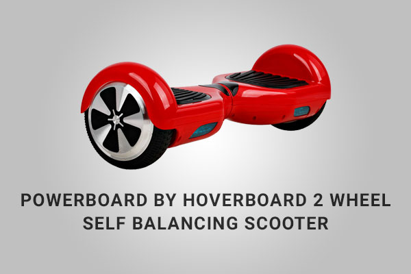 Powerboard By Hoverboard 2 Wheel Self Balancing Electric Scooter