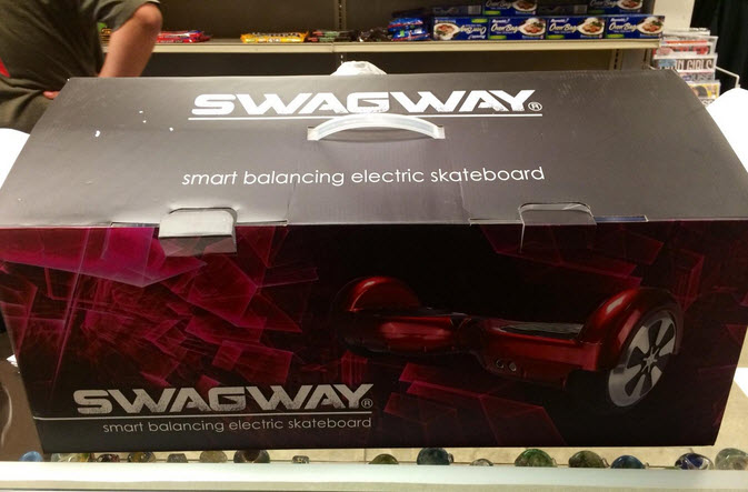 Swagway X1 Hands Free Smart Board Self Balancing Scooter