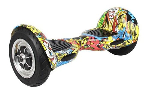 Skque 10 inch Smart Two Wheel Self Balancing Electric Scooter