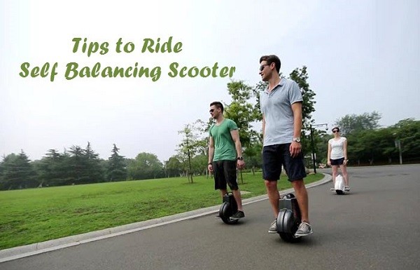 6 Tips For Learning To Ride The Self Balancing Scooter