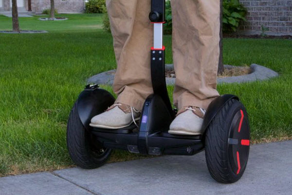 Segway MiniPro In Action