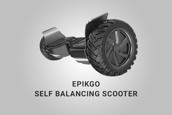 EPIKGO Hoverboard In Action