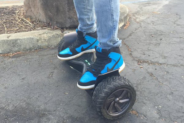 Ride on EPIKGO Hoverboard