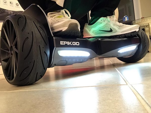 Ride on EPIKGO Sport Hoverboard