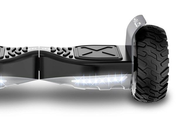 Halo Rover Hoverboard Wheel Size
