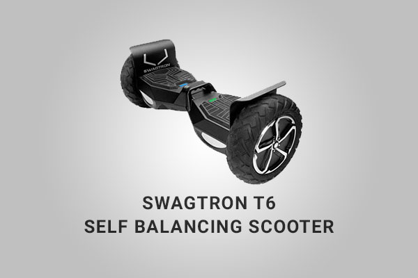 Swagtron T6 Top View