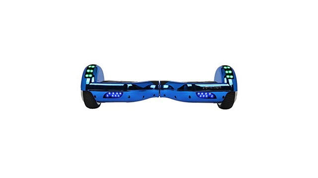 Side View of Hoverheart Hoverboard