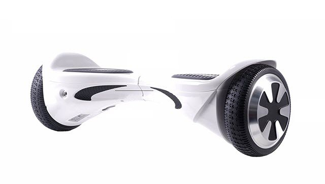 Side View of SAVA X1L Hoverboard