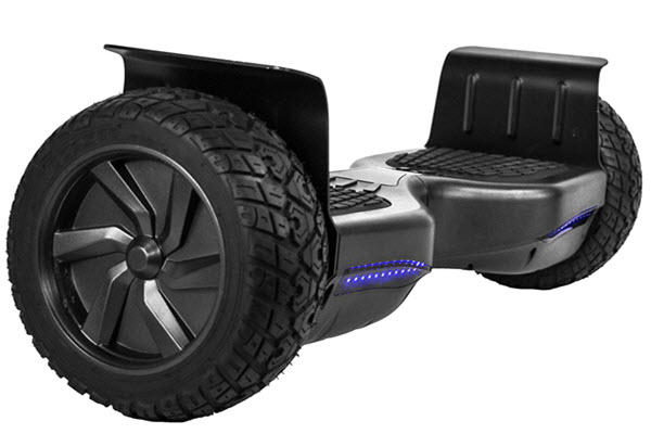 Side view of CHO 8.5 inch hoverboard