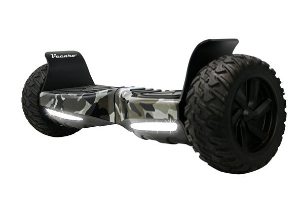 Side View of Vecaro TREK-X-CMGR Hoverboard