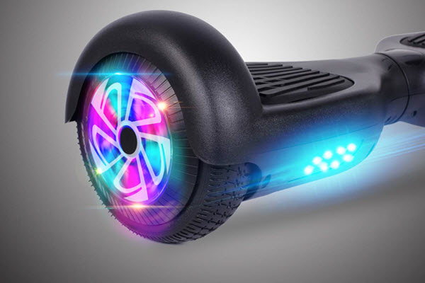 Side view of Felimoda Hoverboard