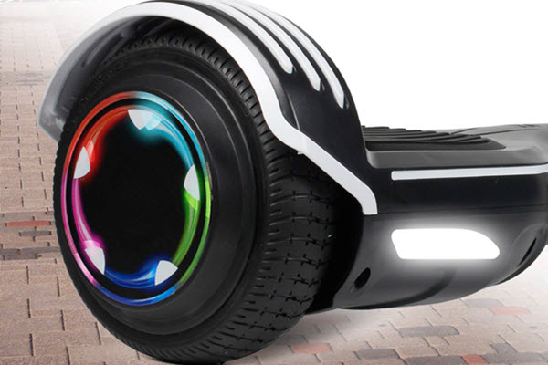 Side View of SISIGAD 6.5 inch hoverboard