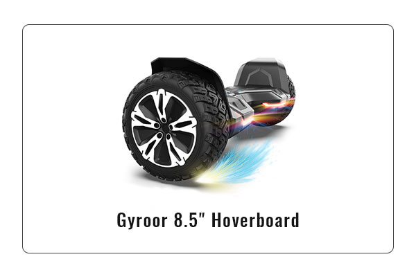 Gyroor warrior 8.5 inch Hoverboard review