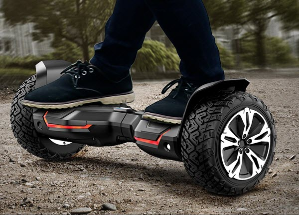 Ride on Gyroor Warrior 8.5 inch Hoverboard