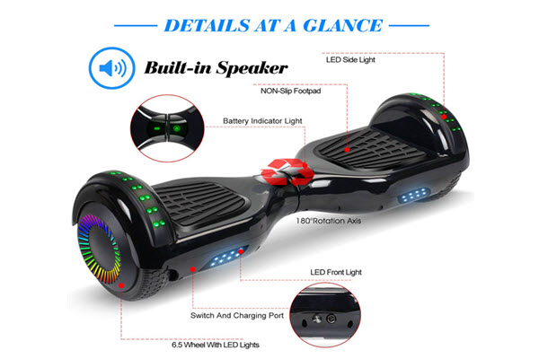 flyingant 6.5 inch hoverboard review