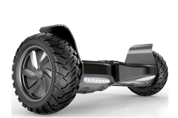 Side View of City cruiser 8.5 inch hoverboard