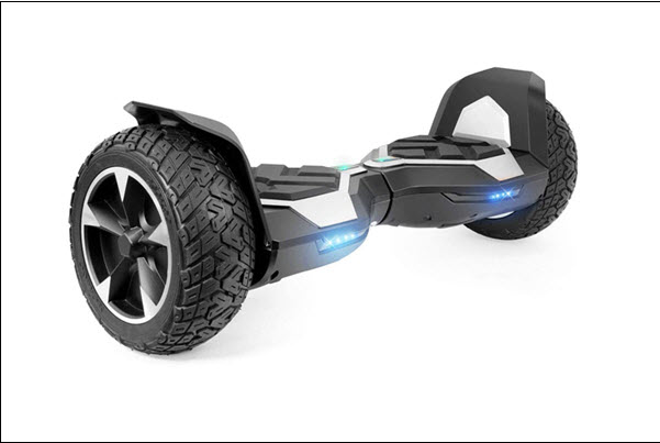 Side View of XtremepowerUS 8.5 Inch Hoverboard