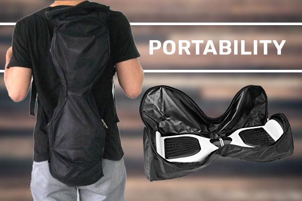 Hoverboard Portability