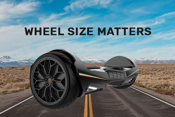 Hoverboard Wheel Size Matters