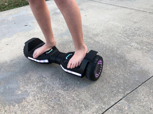 Ride on Jeston flash hoverboard