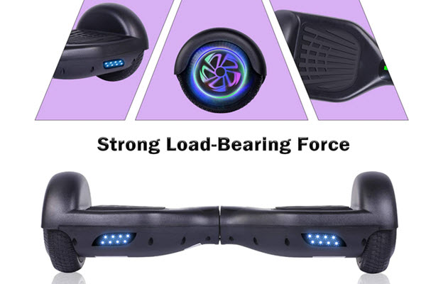 Side View of YHR hoverboard