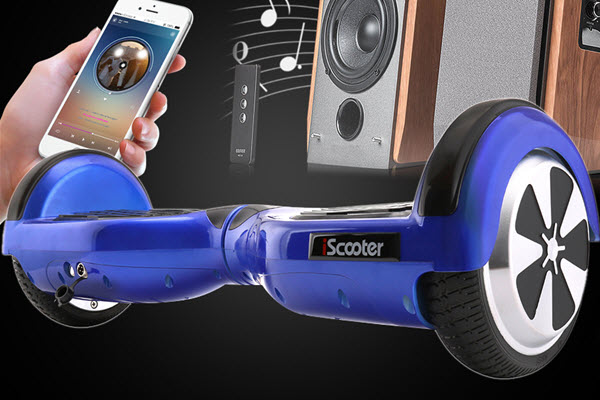 iscooter self balancing scooter