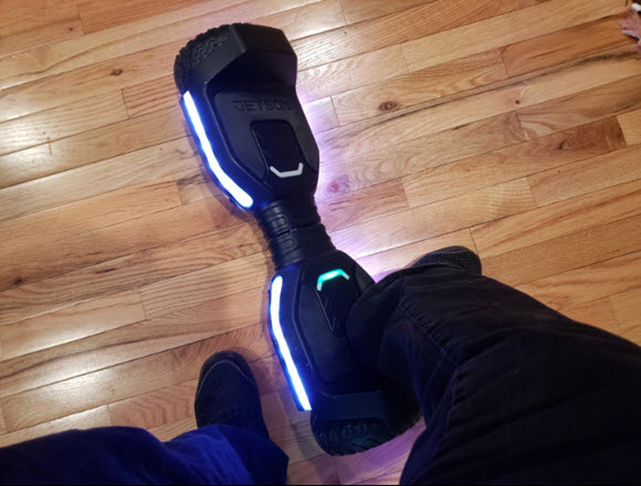jetson flash self balancing scooter