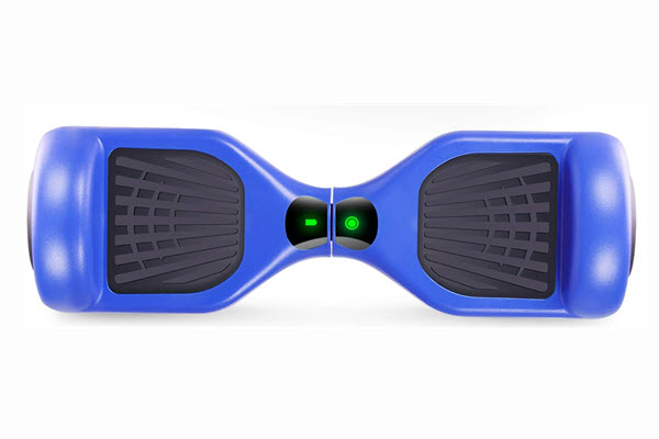 top view of cbd hoverboard