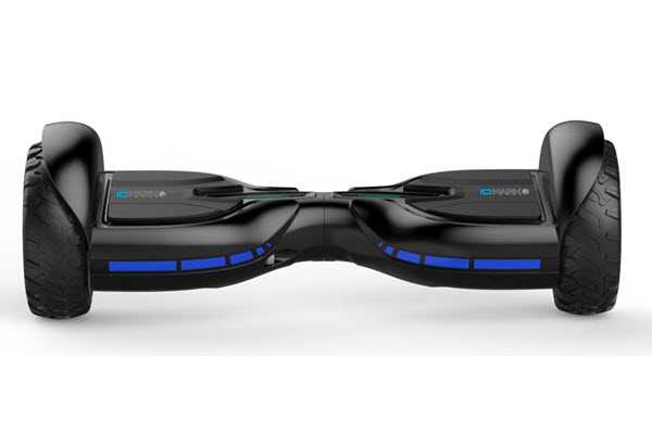 Side view of IO Hawk Hoverboard