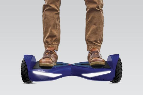 Jetson v12 all terrain Electra Light hoverboard