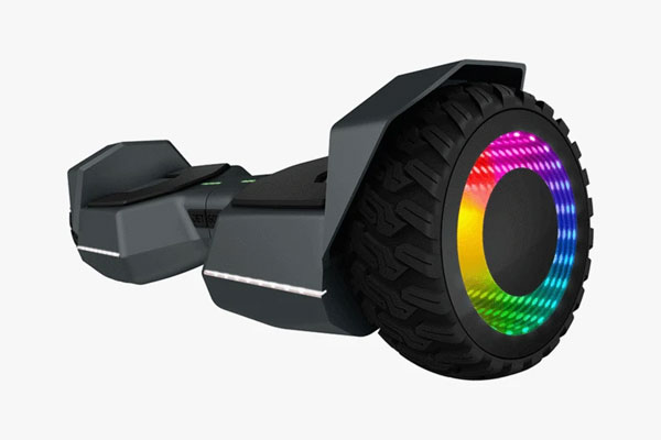Side View of Jetson impact hoverboard