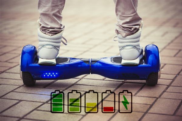 How long does the hoverboard battery last?